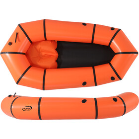 nortik LightRaft Boat orange/black